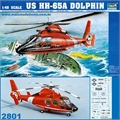 Helicóptero US HH-65A DOLPHIN - Trumpeter - 1/48