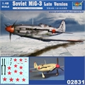 Soviet MIG-3 Late Version - Trumpeter - 1/48