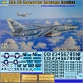 EKA-3B Skywarrior Strategic Bomber - Trumpeter - 1/48