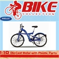Bicicleta BMW Q5.T Azul - Welly - 1/10