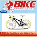 Bicicleta PORSCHE BIKE R - Welly - 1/10