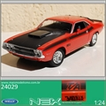 1970 - Dodge Challenger T/A 340 SI PAK - Welly - 1/24