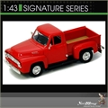1953 - FORD F-100 PICK-UP VERMELHA - Yatming - 1/43