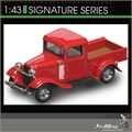 1934 - FORD PICK-UP VERMELHA - Yatming - 1/43