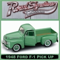 1948 - FORD F-1 PICK UP VERDE - Yatming - 1/18