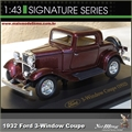 1932 - FORD 3-WINDOW COUPE - Yatming - 1/43