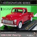 1950 - GMC PICK-UP Vinho - Yatming - 1/43