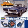 1969 - DODGE CHARGER R/T - Revell - 1/25